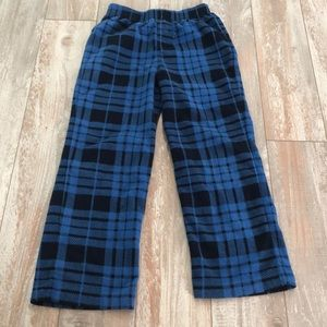 GAP plaid pj pants size 6